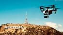 4K LOS ANGELES BY DRONE Лос Анджелес с высоты птичьего полёта HOLLYWOOD CALIFORNIA