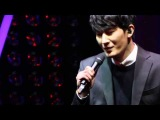 [140212] SM The Ballad Joint Recital: Zhou Mi's solo 'Blind' 《太贪心》