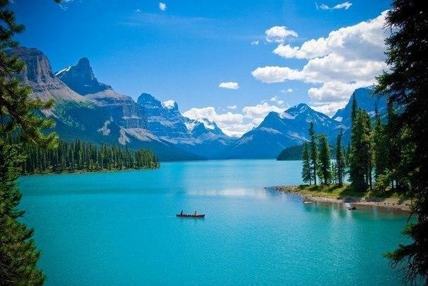 Озеро Малайн в Национальном парке