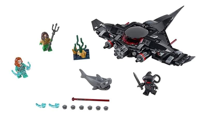 LEGO DC Comics: 76095 Aquaman Black Manta Strike 2018 Set