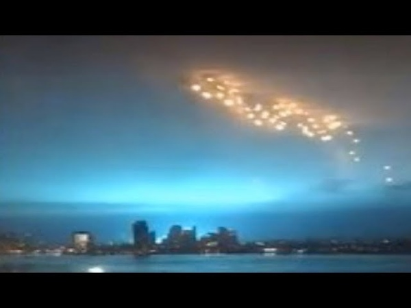 Were these REALLY a fleet of mysterious lights above New York