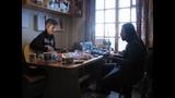 Саша Чернецкий у Юры Шевчука в деревне (Россия, февраль 2009)