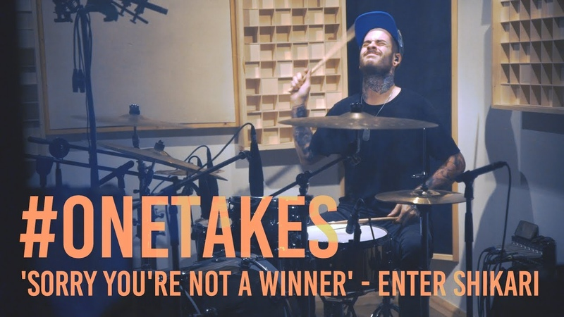 Sorry You're Not A Winner - Enter Shikari | PAT LUNDY DRUMS ONETAKES