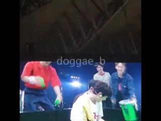 180630 Baekhyun & Kyungsoo @ EXO Japan Fanmeeting