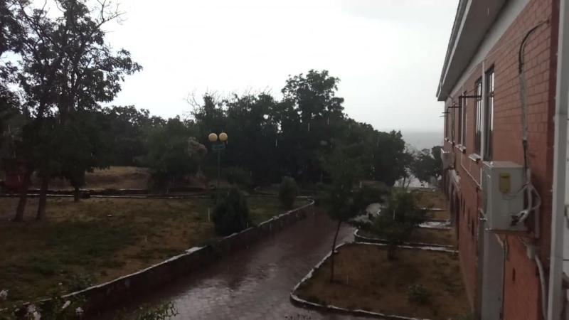 Дождь на Базе Энергетик