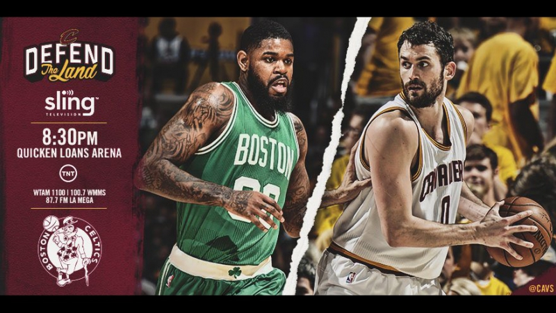 Game 3: Cleveland Cavaliers vs Boston Celtics on Quicken Loans Arena 21.05.2017