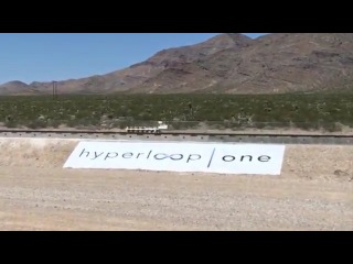 Hyperloop One first test (close-up & slow motion)
