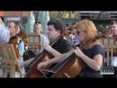 Репетиція просто неба: на площі Архітекторів грає оркестр Слобожанський