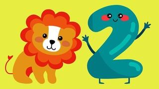Цифра 2 Мультик для детей. Загадки про цифры. Загадки на логику для детей. Веселая математика.