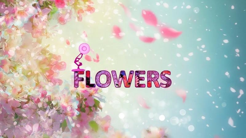 1360-Flowers Spoof Pixar Lamps Luxo Jr Logo