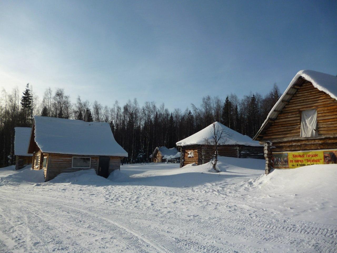 Зима на приюте ″Таганай″ (20.12.2015)