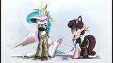Май Литл Пони - няшные Горничные. Часть 2. May Little Pony - anime maid 2