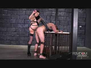 [femdomempire] marley brinx - born to be fucked [2019 г., femdom, strapon, pegging, anal, stockings, 1080p]