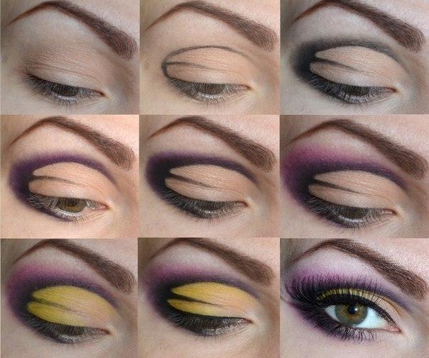 Создаем красивый макияж.