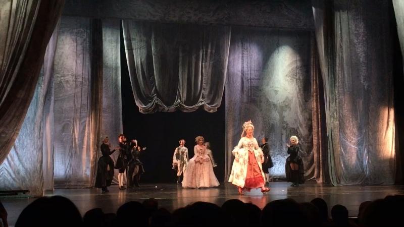 12 мая, 2018 г., Мюзикл Территория страсти, Театр Вахтангова, Москва