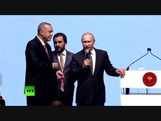 Путин из Стамбула передал привет Киеву: «Турецкий поток»-это яркий пример умения защищать свои национальные интересы!