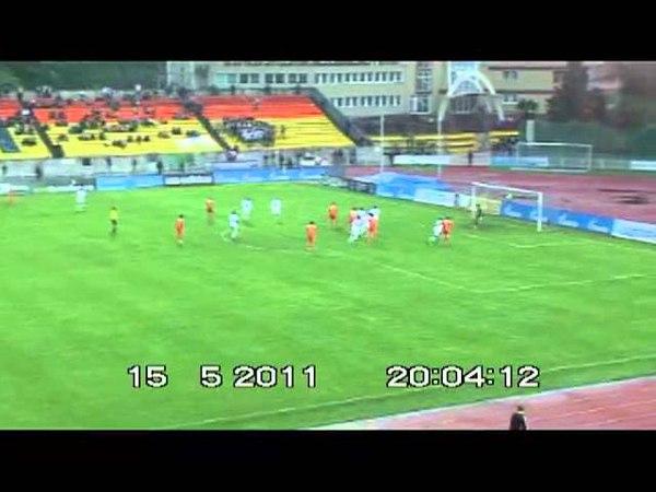 ФНЛ 2011/12. 9 тур. Жемчужина – Алания 0-1
