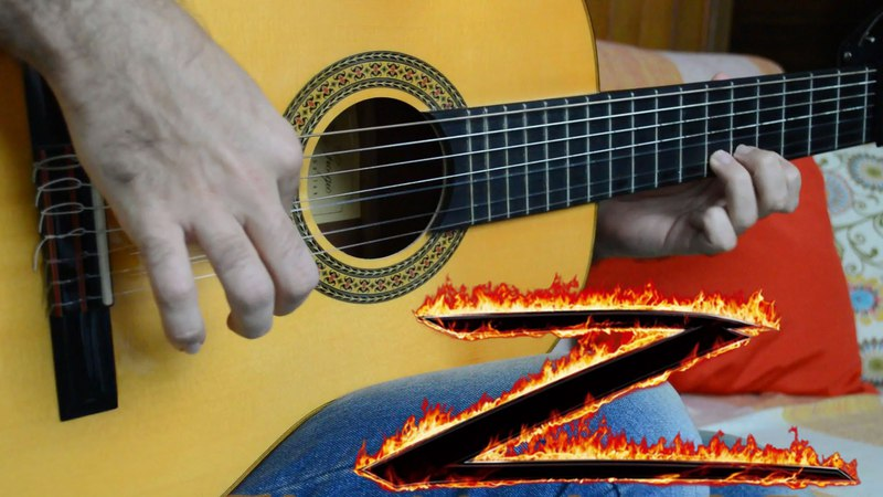 The Mask of Zorro theme - Fingerstyle Guitar (Marcos Kaiser) 102