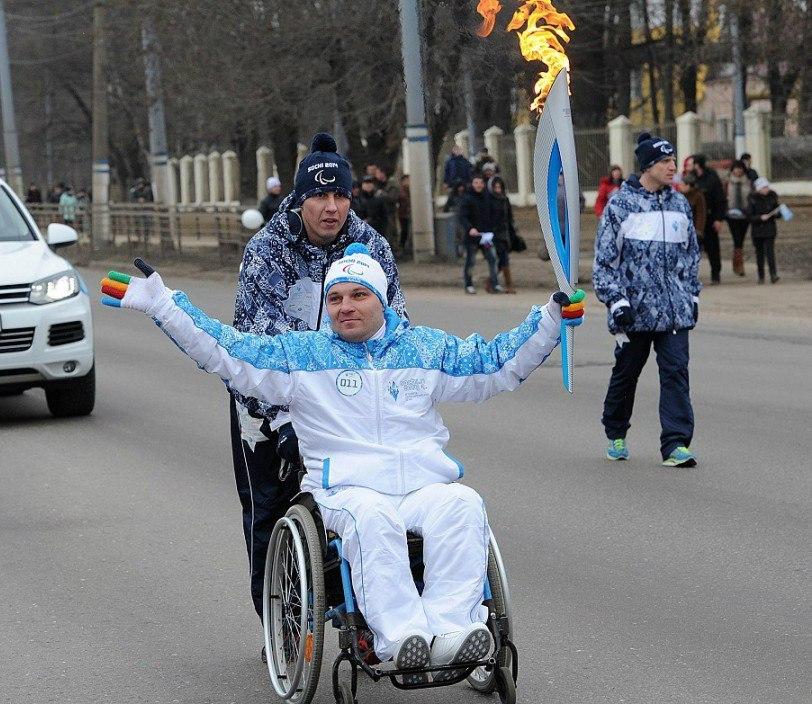 Эстафета Паралимпийского огня стартует на юге страны
