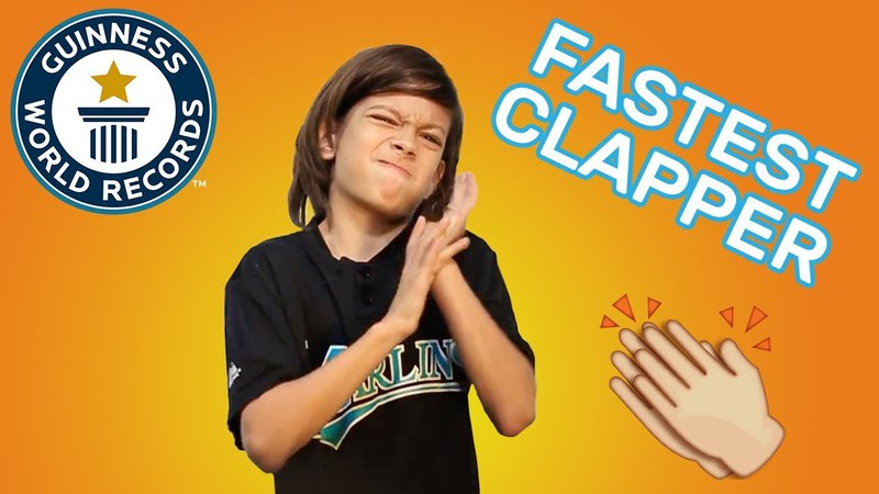 Most claps in one minute