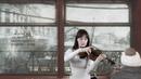 Metro Exodus ost music on Violin with beatiful girl