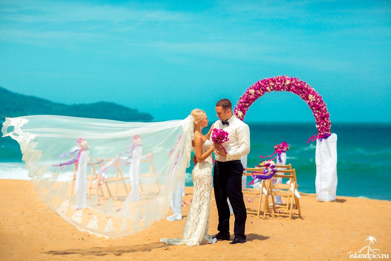 символическая свадьба в Тайланде