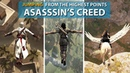 JUMPING From the Highest Points in Assassin's Creed Games (2007-2018)