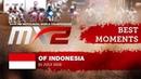 MX2 Best Moments - MXGP of Indonesia 2018 motocross