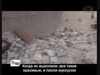 Сирийский мальчик из г.Алеппо сдерживает слёзы! 40 человек из его семьи убиты.mp4