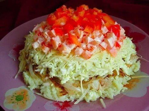 Простые салаты очень просто