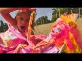 Видео с куклами #МонстрХай ❤️ Лучшие подружки Элис и Галиопа на пляже. Монстр Ха...