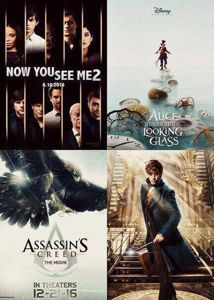 Самые ожидаемые фильмы 2016 года забирай на стену чтоб не пропустить...!!