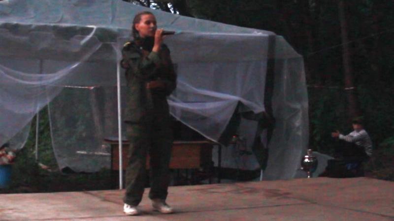 Песня Давай за исполняет Батосова Диана, лагерь Разведка 2018