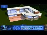Симс 3 строительство 3 этажного дома стиля хай-тек Часть 1.