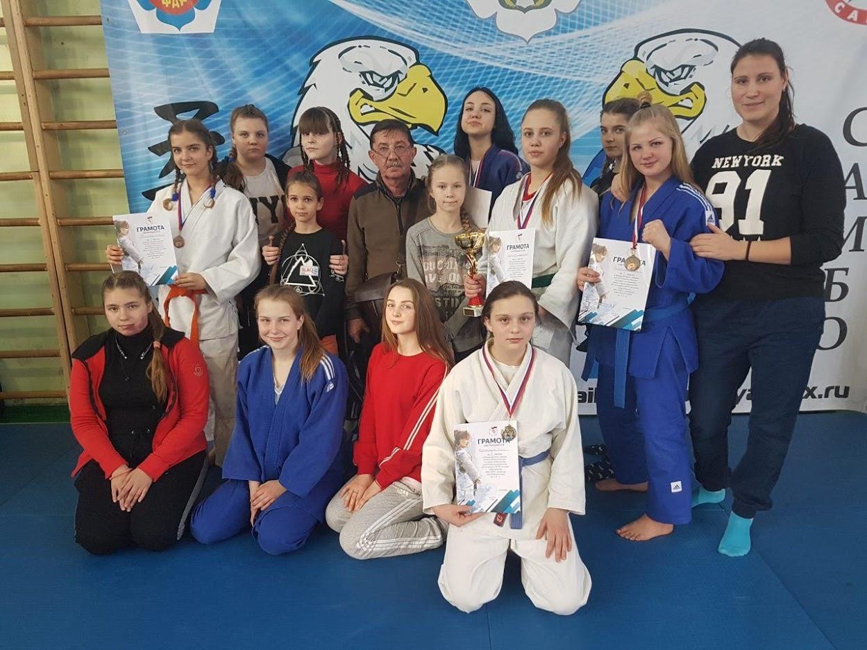 Сборная команда города Донецка приняла участие в турнире по дзюдо среди девушек в Российской Федерации