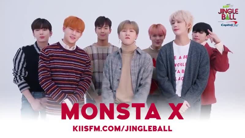 [VK][181018] MONSTA X message @ JINGLE BALL Festival in Los Angeles