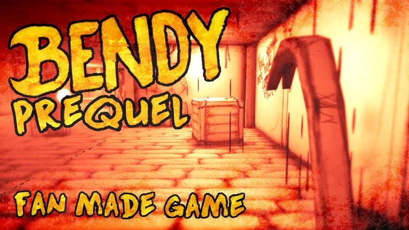 Prequel of The Demon FanMade Game Trailer Inspired by TheMeatly's Bendy And The Ink Machine