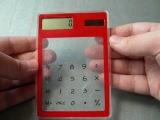 TinyDeal - Ultra Thin Transparent Touch Screen Solar Calculator YSN-82128