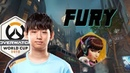 Fury shows how to play D.va - South Korea vs. UK Overwatch World Cup 2018