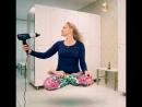В раздевалка йога студии (квадрат)