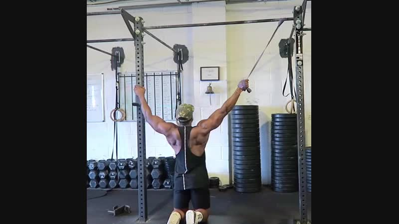 1Scapula Retraction Pull downs pre workout Activation