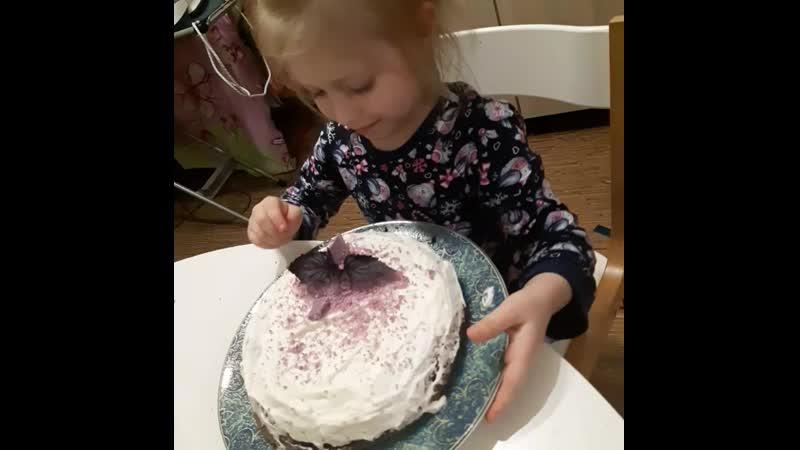 Прокачали с Соней кулинарный скилл черемуховый кейк с черничным курдом шоколадом из батата и органическим базиликом звучит по