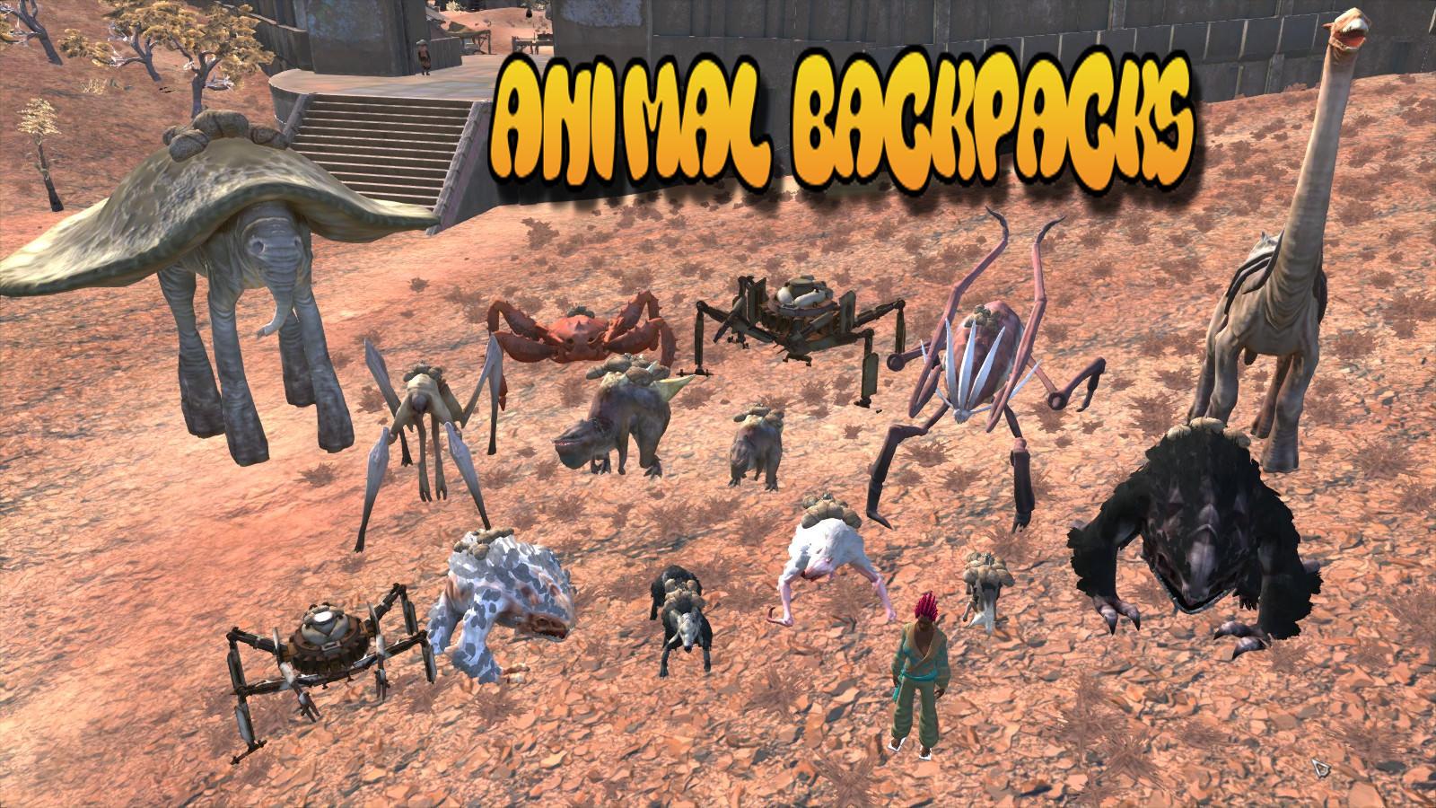 Animal Backpacks / Рюкзаки для животных (RU)