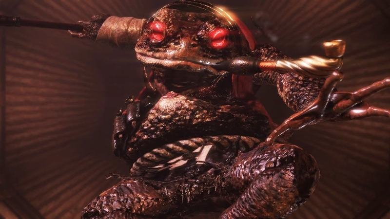 Scorpion Fantom VS Giant Toad Nobunaga Oda Magoichi Saika