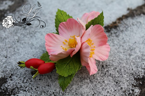 Скора весна. К Вашему вниманию цветы из керамики для флористики…. (4 фото) - картинка