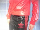 Adidas Red Tracksuit