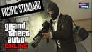 Grand Theft Auto Online: Шалим и прохождение Pacific Standard