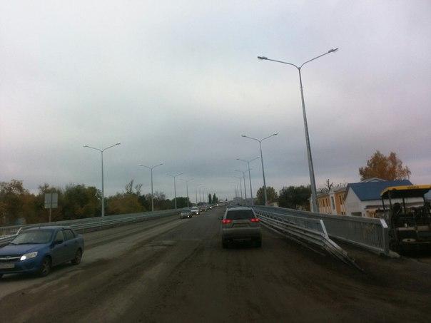 40 минут назад открыли Южный мост!