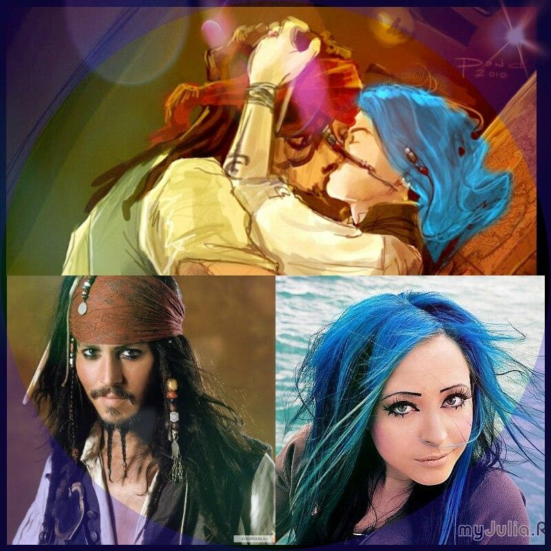 Секс двух прелестных девушек на пиратском судне