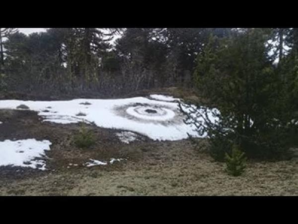 Аргентина: Странные следы на земле, вызваны посадкой НЛО?
